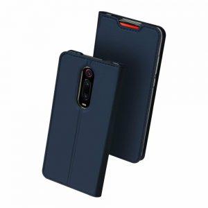 Чехол-книжка Dux Ducis с карманом для Xiaomi Redmi K20 / K20 Pro / Mi 9T / Mi 9T Pro – Синий