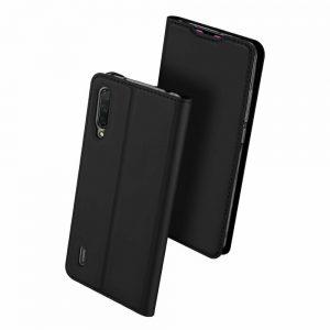 Чехол-книжка Dux Ducis с карманом для Xiaomi Mi 9 Lite / Mi CC9 — Черный