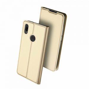 Чехол-книжка Dux Ducis с карманом для Xiaomi Mi Play — Золотой