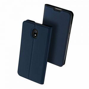 Чехол-книжка Dux Ducis с карманом для Xiaomi Redmi 8A – Синий