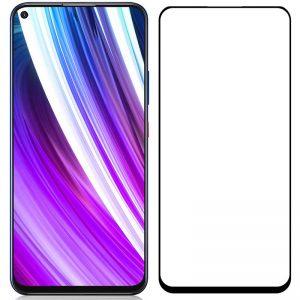 Защитное стекло 3D / 5D Premium 9H Full Glue на весь экран для ZTE Blade V2020  – Black