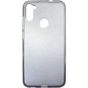 Cиликоновый чехол Shine Gradient для Samsung Galaxy A11 / M11 – Transparent