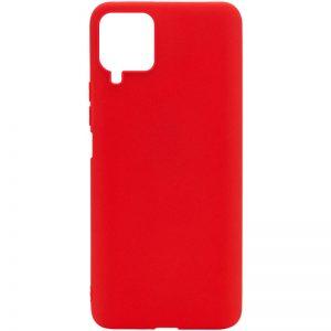 Матовый силиконовый TPU чехол для Samsung Galaxy A22 / M32 – Красный