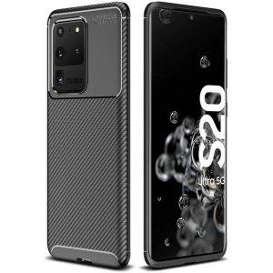 Силиконовый чехол Kaisy Series для Samsung Galaxy S20 Ultra – Black