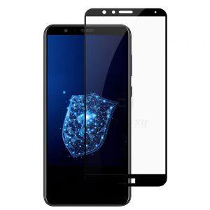 Защитное стекло 11D 9H i-flexi Full Glue для Huawei Honor 7x — Black