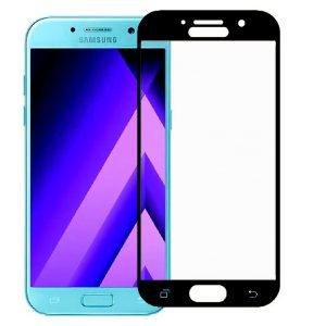 Защитное стекло 3D (5D) Perfect Glass Full Glue Ipaky на весь экран для Samsung Galaxy A3 2017 (A320) – Black