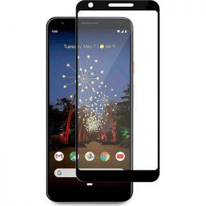 Защитное стекло 2.5D (3D) Full Cover на весь экран для Google Pixel 3a XL – Black