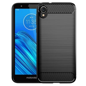Cиликоновый TPU чехол Slim Series для Motorola Moto E6 – Черный