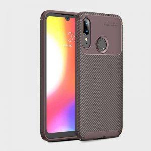 Силиконовый чехол Kaisy Series для Motorola Moto E6 Plus – Brown