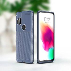 Силиконовый чехол Kaisy Series для Motorola One Hyper – Blue