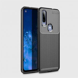 Силиконовый чехол Kaisy Series для Motorola P40 Power – Black
