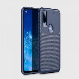 Силиконовый чехол Kaisy Series для Motorola P40 Power – Blue