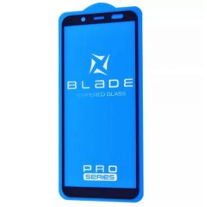 Защитное стекло 3D (5D) Blade Glass Full Glue на весь экран для Samsung Galaxy J6 2018 (J600) – Black