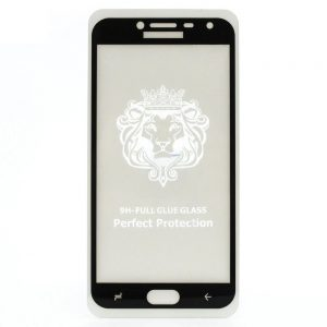 Защитное стекло 3D (5D) Perfect Glass Full Glue Lion на весь экран для Samsung Galaxy J3 2017 (J330) – Black