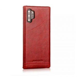 Чехол с натуральной кожи Pierre Cardin для Samsung Galaxy Note 10 Plus (N975) – Красный