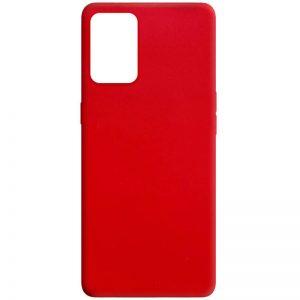 Матовый силиконовый TPU чехол для Oppo A74 – Красный