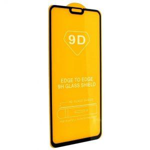 Защитное стекло 9D Full Glue Cover Glass на весь экран для Huawei Honor 8x — Black