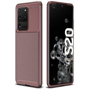 Силиконовый чехол Kaisy Series для Samsung Galaxy S20 Ultra – Brown