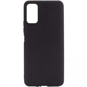 Матовый силиконовый TPU чехол для Xiaomi Redmi Note 10 5G / Poco M3 Pro – Черный