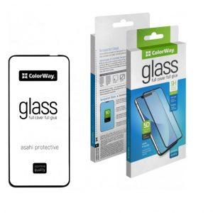 Защитное стекло 3D (5D) ColorWay Full Glue Cover Glass для Huawei P40 lite – Black