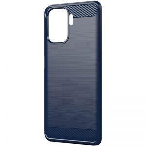 Cиликоновый TPU чехол Slim Series для Oppo Reno 5 Lite – Синий
