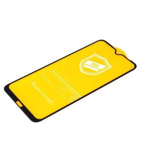 Защитное стекло 9H Full Glue на весь экран для Xiaomi Redmi Note 8 – Black
