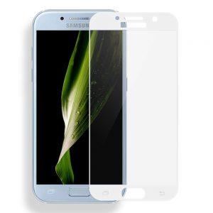 Защитное стекло 3D (5D) Perfect Glass Full Glue Ipaky на весь экран для Samsung Galaxy A3 2017 (A320) – White