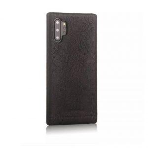 Чехол с натуральной кожи Pierre Cardin для Samsung Galaxy Note 10 Plus (N975) – Черный