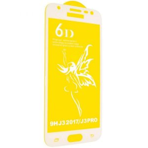 Защитное стекло 6D Premium для Samsung Galaxy J3 2017 (J330) – White