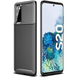 Силиконовый чехол Kaisy Series для Samsung Galaxy S20 – Black