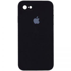 Защитный чехол Silicone Cover 360 Square Full для Iphone 7 / 8 / SE (2020) – Черный / Black