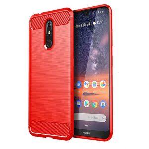Cиликоновый TPU чехол Slim Series для Nokia 3.2 – Красный