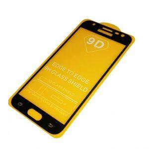 Защитное стекло 9D Full Glue Cover Glass на весь экран для Samsung Galaxy J2 Prime 2016 (G532) – Black