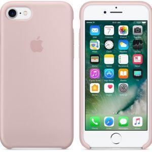 Оригинальный чехол Silicone case + HC для Iphone 7 / 8 / SE (2020) – Pink sand