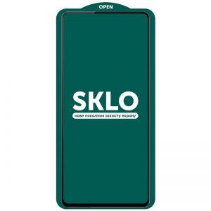 Защитное стекло 3D (5D) Perfect Glass Full Glue SKLO на весь экран для Xiaomi Redmi Note 10 5G / Poco M3 Pro – Black
