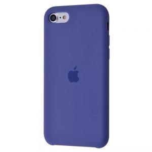 Оригинальный чехол Silicone case + HC для Iphone 7 / 8 / SE (2020) – Linen blue