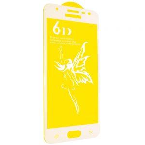 Защитное стекло 6D Premium для Samsung Galaxy J5 2017 (J530) – White