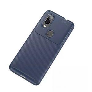 Силиконовый чехол Kaisy Series для Motorola P40 – Blue