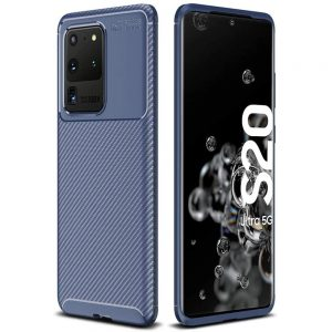 Силиконовый чехол Kaisy Series для Samsung Galaxy S20 Ultra – Blue
