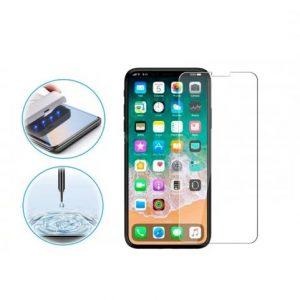 Защитное стекло 3D / 5D UV Mocolo с УФ лампой для Iphone XR / 11 – Clear
