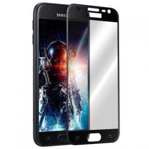 Защитное стекло 3D (5D) Perfect Glass HD+ на весь экран для Samsung Galaxy J3 2017 (J330) — Black