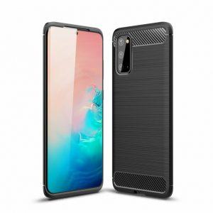 Cиликоновый TPU чехол Slim Series для Samsung Galaxy S20 – Черный