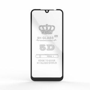 Защитное стекло 5D Full Glue Cover Glass на весь экран для Xiaomi Redmi 7 – Black