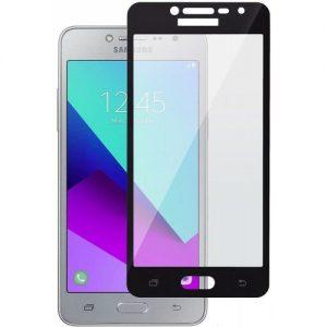 Защитное стекло 21D Full Glue Cover Glass на весь экран для Samsung Galaxy J2 Prime 2016 (G532) — Black