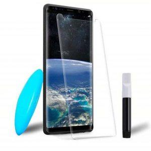 Защитное стекло 3D / 5D UV Mocolo с УФ лампой для Samsung Galaxy S9 (G960 – Clear