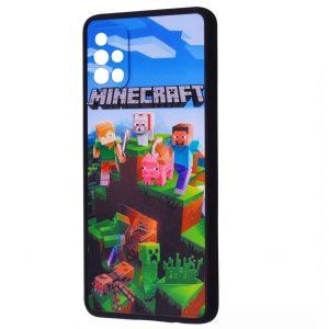 Чехол TPU+PC Game Heroes Case для Xiaomi Mi 11 Lite / 11 Lite 5G NE – Minecraft