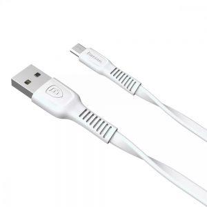 Кабель Baseus Tough Series MicroUSB 2.0A (1м) – White