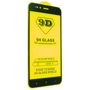 Защитное стекло 9D Full Glue Cover Glass на весь экран для Xiaomi Mi 5x / Mi A1 – Black