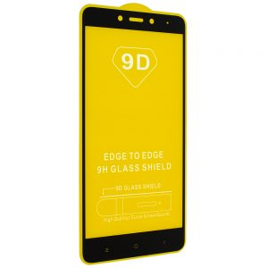 Защитное стекло 9D Full Glue Cover Glass на весь экран для Xiaomi Redmi Note 4 (Mediatek) – Black