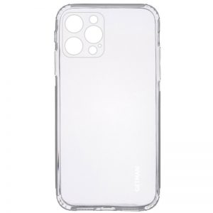 Прозрачный силиконовый TPU чехол GETMAN для Iphone 13 Pro
